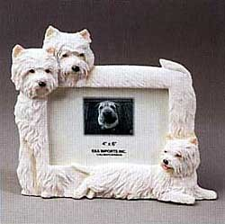 West Highland Terrier Picture Frame