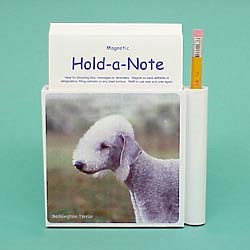 Bedlington Terrier Hold-a-Note