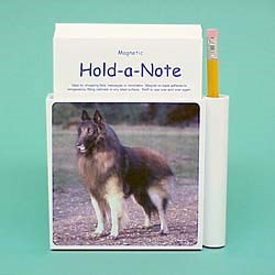 Belgian Tervuren Hold-a-Note