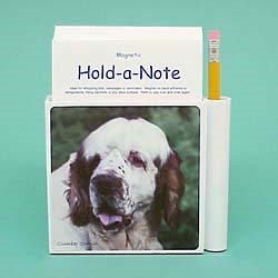 Clumber Spaniel Hold-a-Note