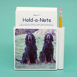 Gordon Setter Hold-a-Note