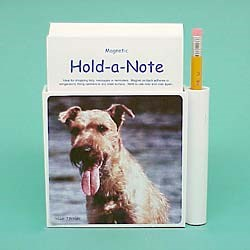 Irish Terrier Hold-a-Note