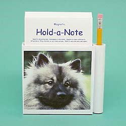 Keeshond Hold-a-Note