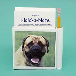 Mastiff Hold-a-Note