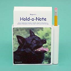 Schipperke Hold-a-Note