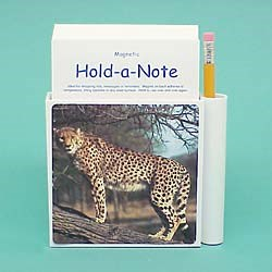 Cheetah Hold-a-Note