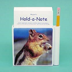 Chipmunk Hold-a-Note