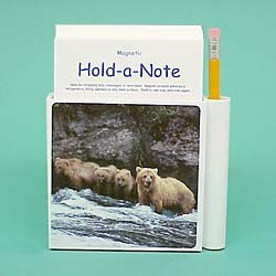 Grizzly Bear Hold-a-Note