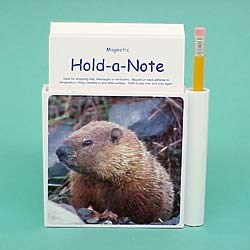 Groundhog Hold-a-Note