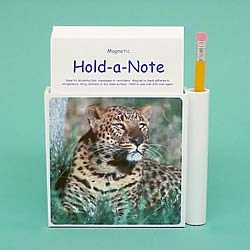 Leopard Hold-a-Note