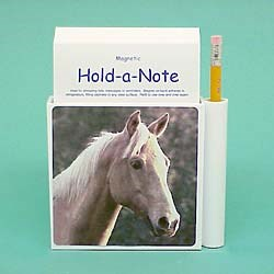 Palomino Horse Hold-a-Note