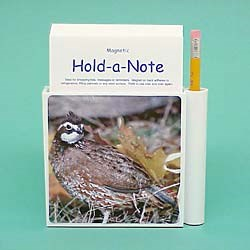 Quail Hold-a-Note