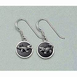 Alligator Dangling Earrings