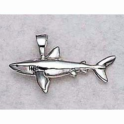 Great White Shark Pendant
