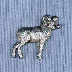Big Horn Sheep Pin