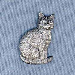 Cat Pin (Sitting)