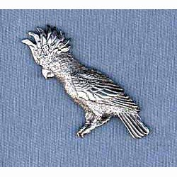 Cockatoo Pin