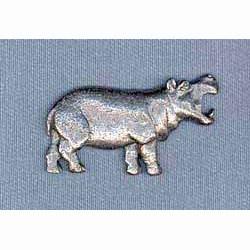 Hippopotamus Pin
