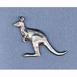 Pewter Kangaroo Pin