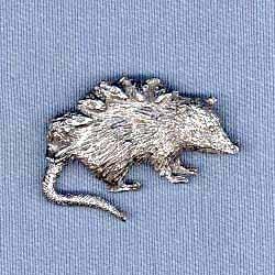 Opossum Pin