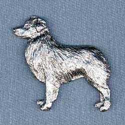 Australian Shepherd Pin