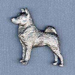 Norwegian Elkhound Pin