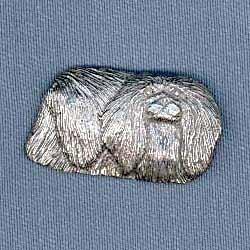Pekingese Pin
