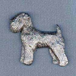 Wheaten Terrier Pin