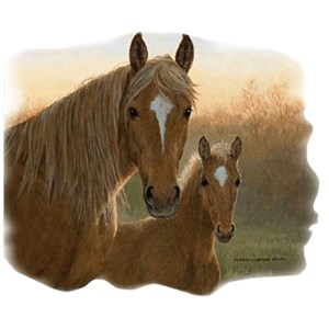 Palomino Horse T-Shirt - Majestic