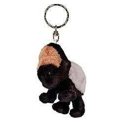 Gorilla Keychain Plush