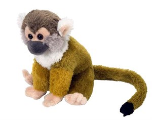 Squirrel Monkey Plush Animal