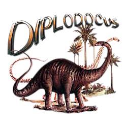 Dinosaur T-Shirt - Diplodocus