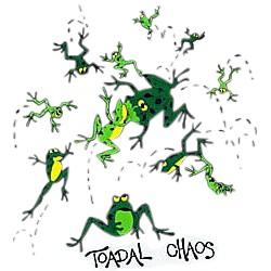 Frog T-Shirt - Toadal Chaos
