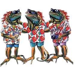Iguana T-Shirt - Ready to Party