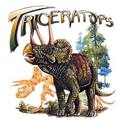 Dinosaur T-Shirt - Triceratops