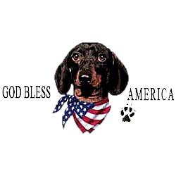 Dachshund T-Shirt - American Dog