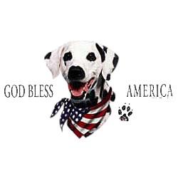 Dalmatian T-Shirt - American Dog