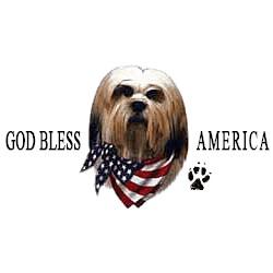 Lhasa Apso T-Shirt - American Dog