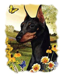 Miniature Pinscher T-Shirt - Statuesque