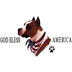 Pit Bull Terrier T-Shirt - American Dog