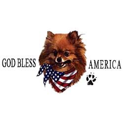 Pomeranian T-Shirt - American Dog