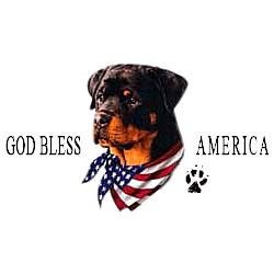 Rottweiler T-Shirt - American Dog