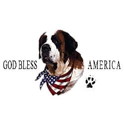 Saint Bernard T-Shirt - American Dog