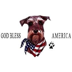 Schnauzer T-Shirt - American Dog