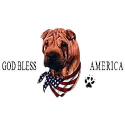 Shar Pei T-Shirt - American Dog