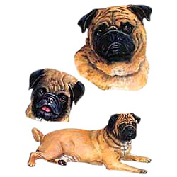Pug T-Shirt - Collage