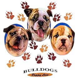 Bulldog T-Shirt - Puppies and Paws