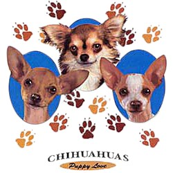 Chihuahua T-Shirt - Puppies and Paws