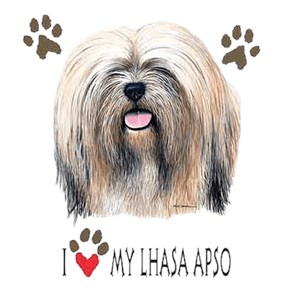 Lhasa Apso T-Shirt - I Heart My