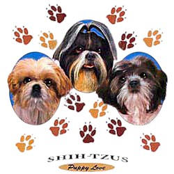 Shih Tzu T-Shirt - Puppies and Paws